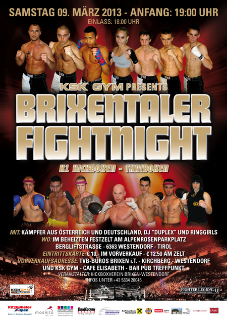 Brixentaler Fight Night