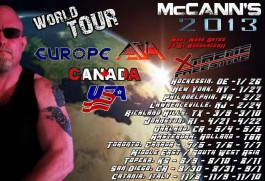 McCanns world tour
