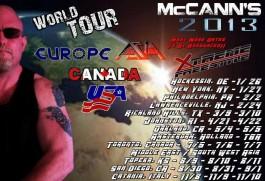McCanns world tour