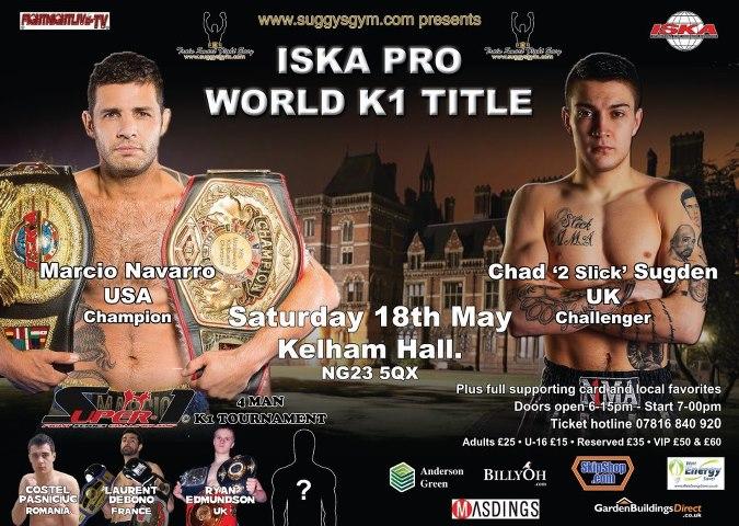 World K1 pro title