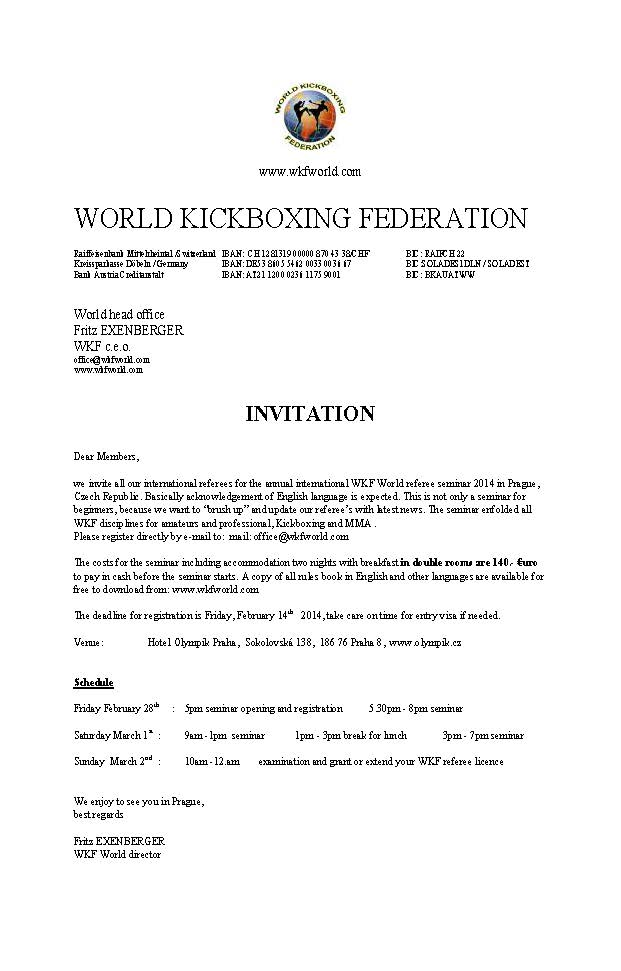 Page 1 of 2014.02.28 WKF World Referee Seminar