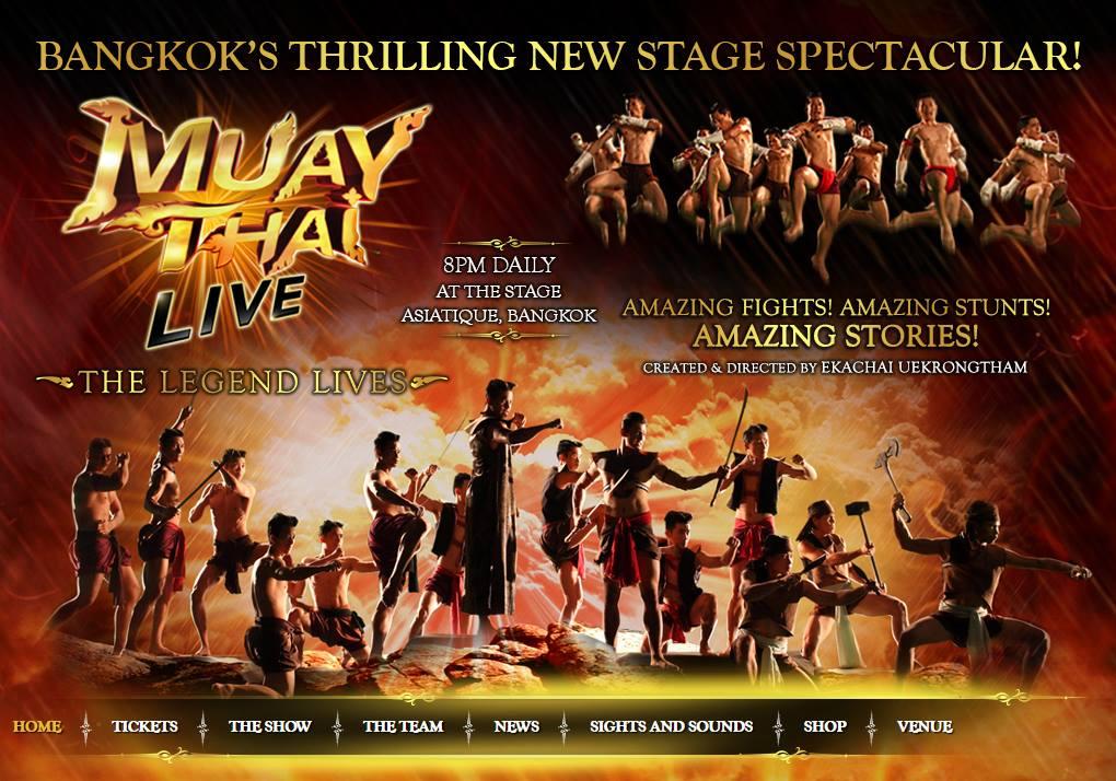 Muay Thai Live Poster