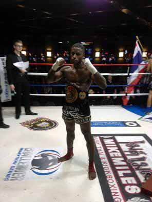 WMC Intercontinental Welterweight Champ
