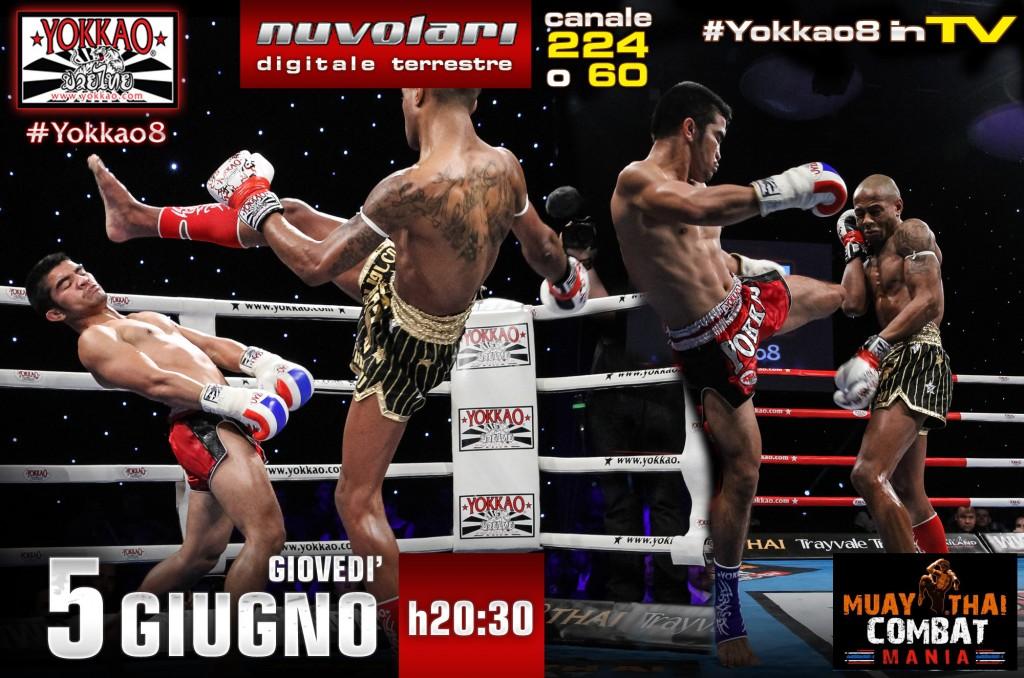 Dean James def. Rungrawee Sasiprapa by TKO (round 3 injured left arm) in Yokkao 8 at Reebok Stadium in Bolton, England on March 8, 2014