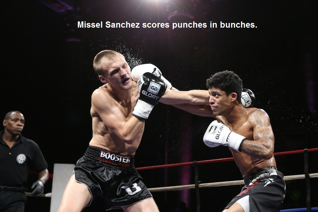 Missel Sanchez (right) vs. Daniel Nelson.