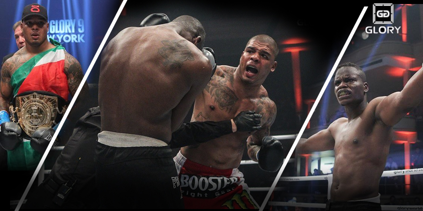 Tyrone Spong vs. Danyo Ilunga at Glory 9 in New York City on 06-22-2013