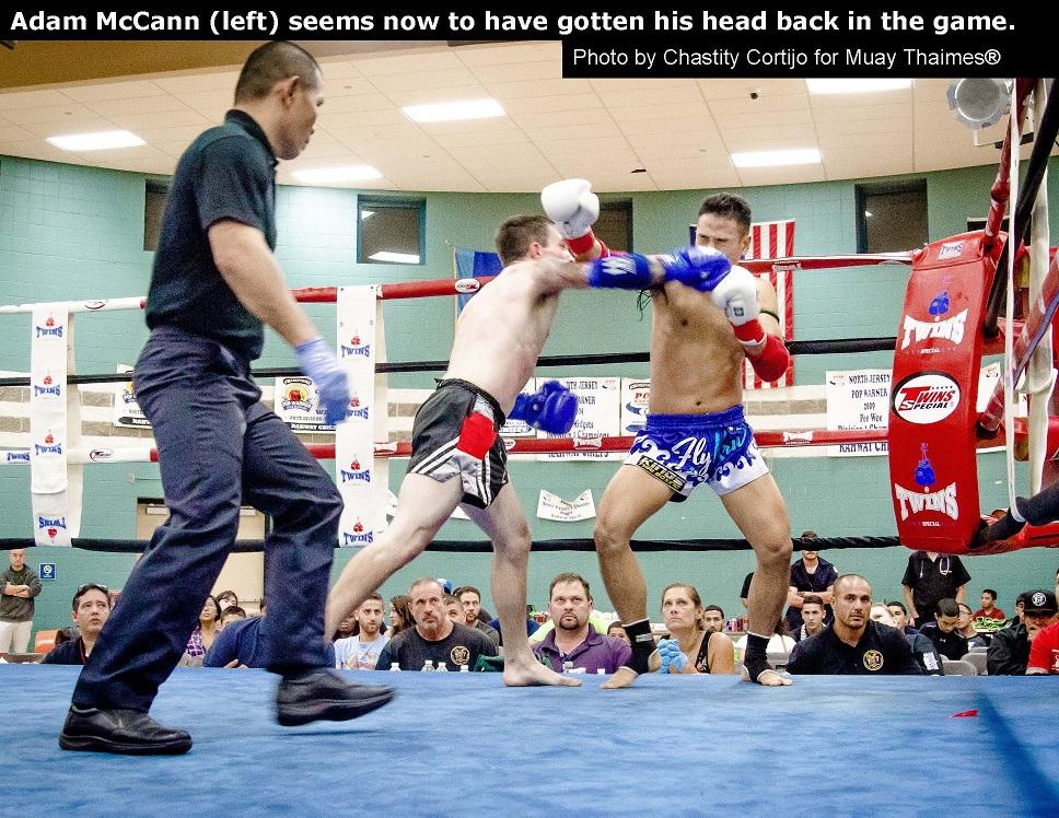 Adam McCann vs. Youyung Cho