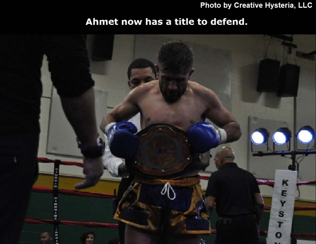 Ahmet now has a title to defend