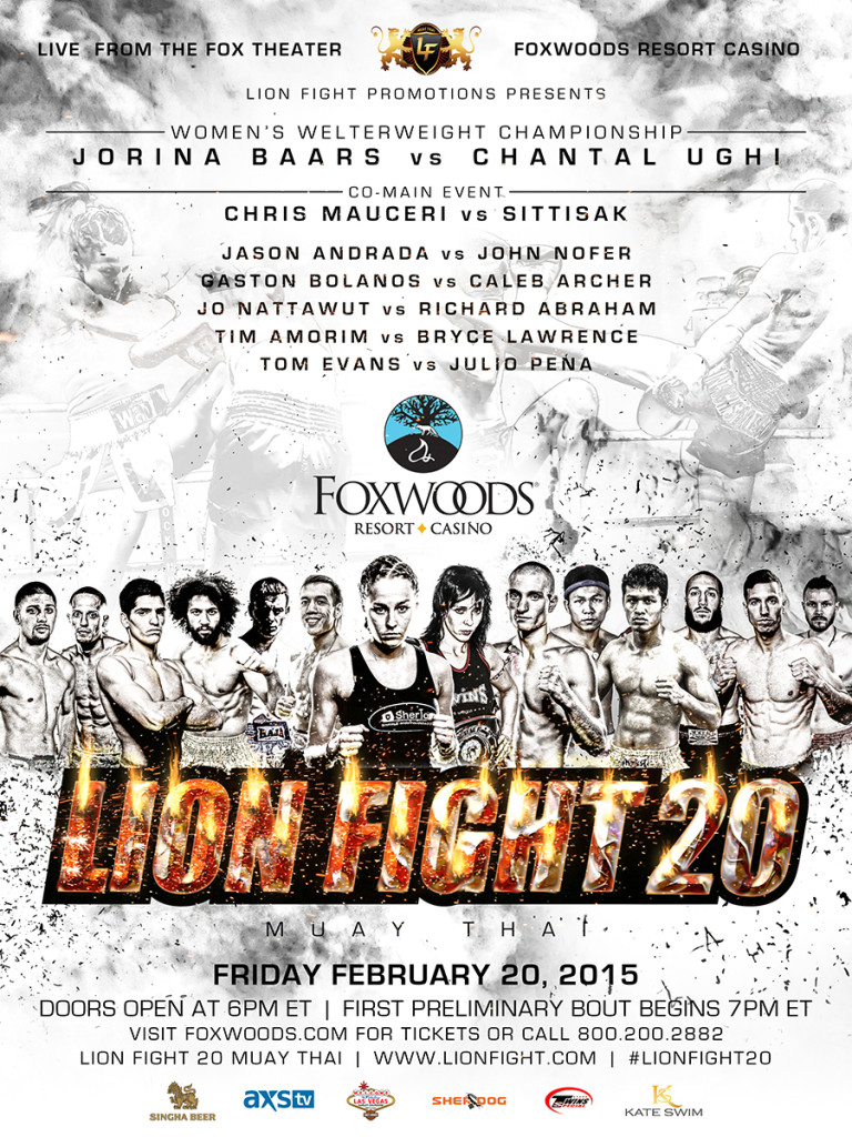Lion Fight 20 Poster