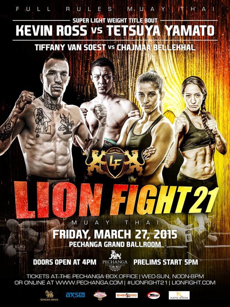 Lion Fight 21 Poster