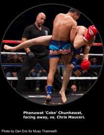 Phanuwat 'Coke' Chunhawat vs. Chris Mauceri