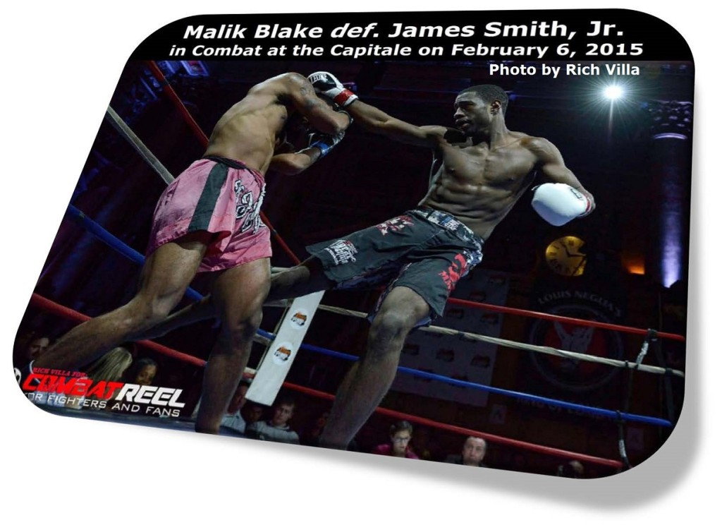 Malik Blake vs. James Smith, Jr.