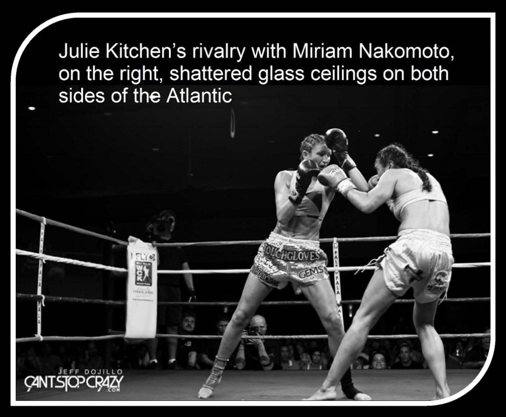 Miriam Nakomoto vs. Julie Kitchen