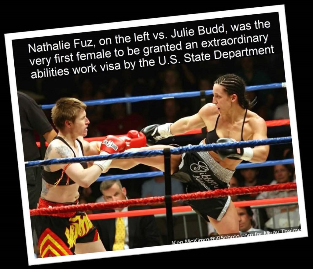 Nathalie Fuz vs. Julia Budd