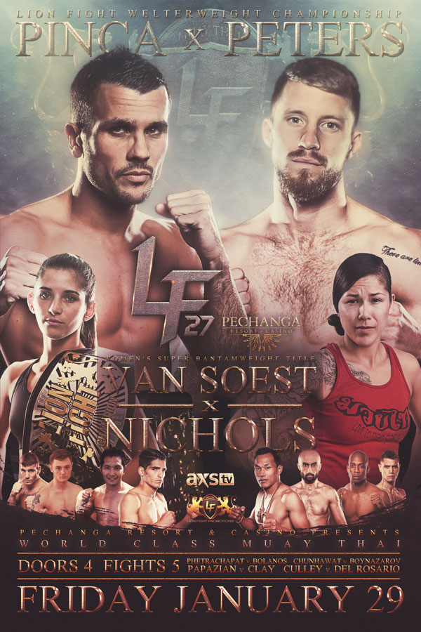 Lion Fight XXVII Poster