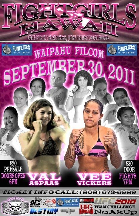 Fight Girls Hawaii Poster