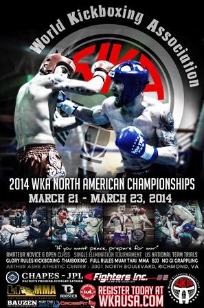 WKA North American Poster