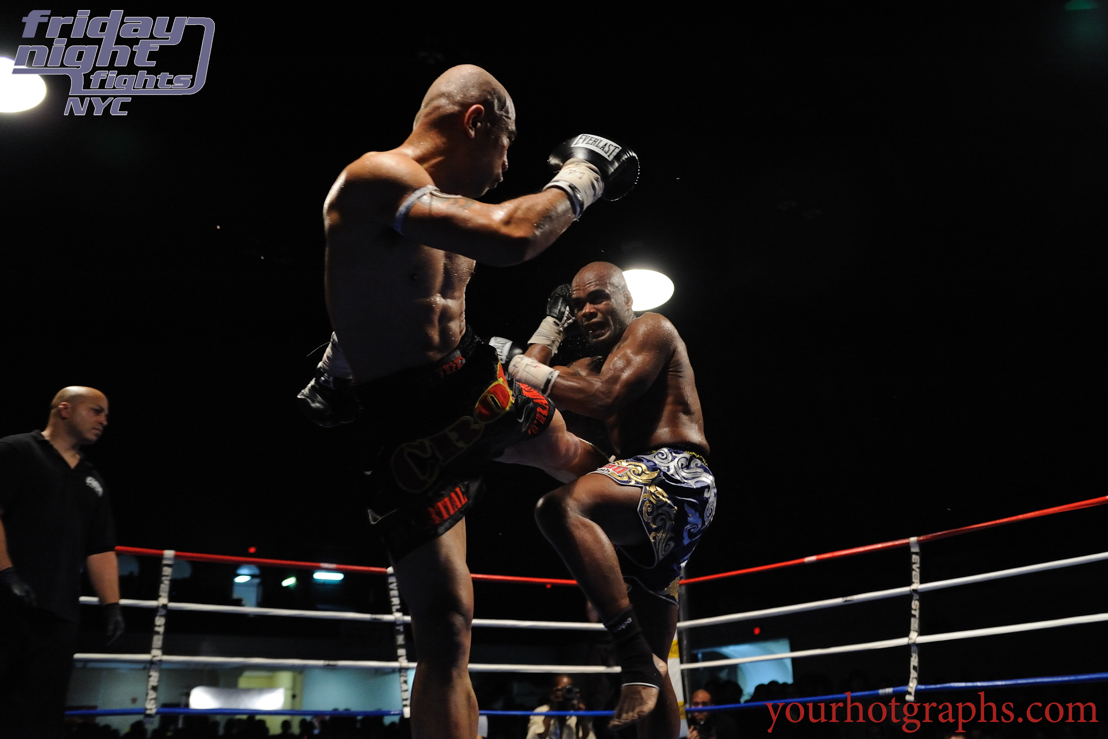 Chris Romulo vs. Sean Hinds at Church Street Boxing Gym's Friday Night Fights Series in NYC