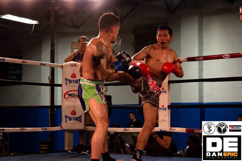 Kornpet Petchrapat defeated Eddie Martinez to win the WBC International Challenge Welterweight Title