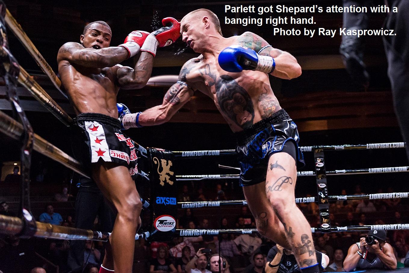Parlett vs. Shepard