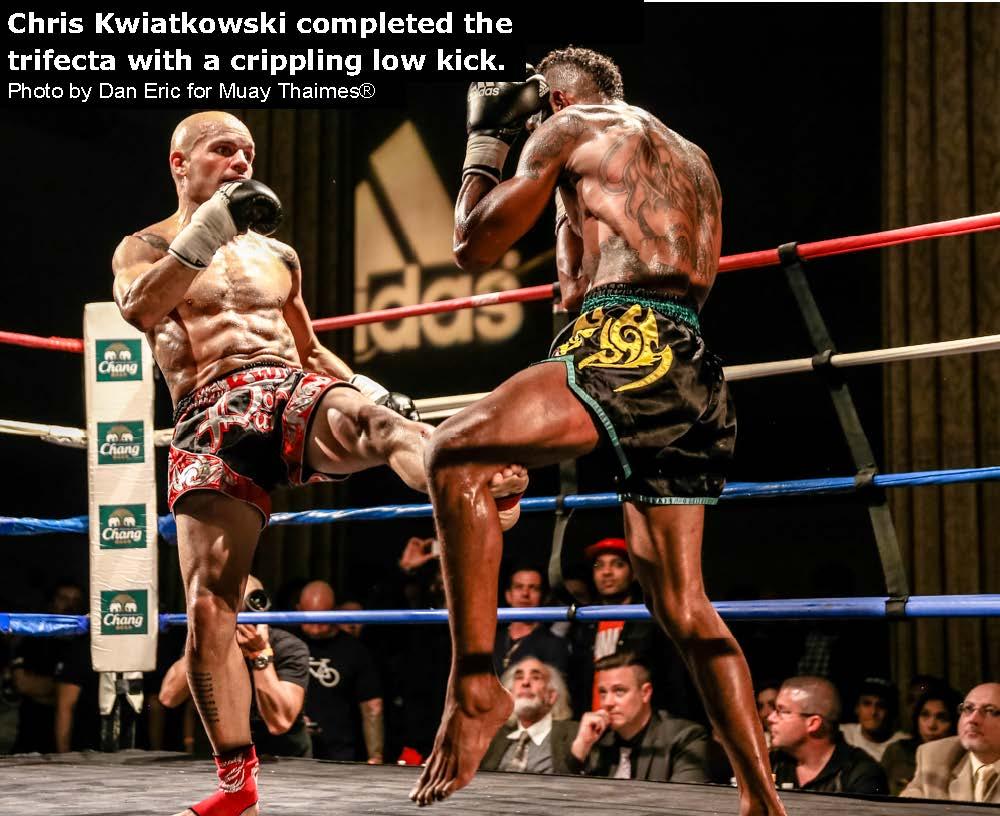 Chris Kwiatkowski Completed the Trifecta