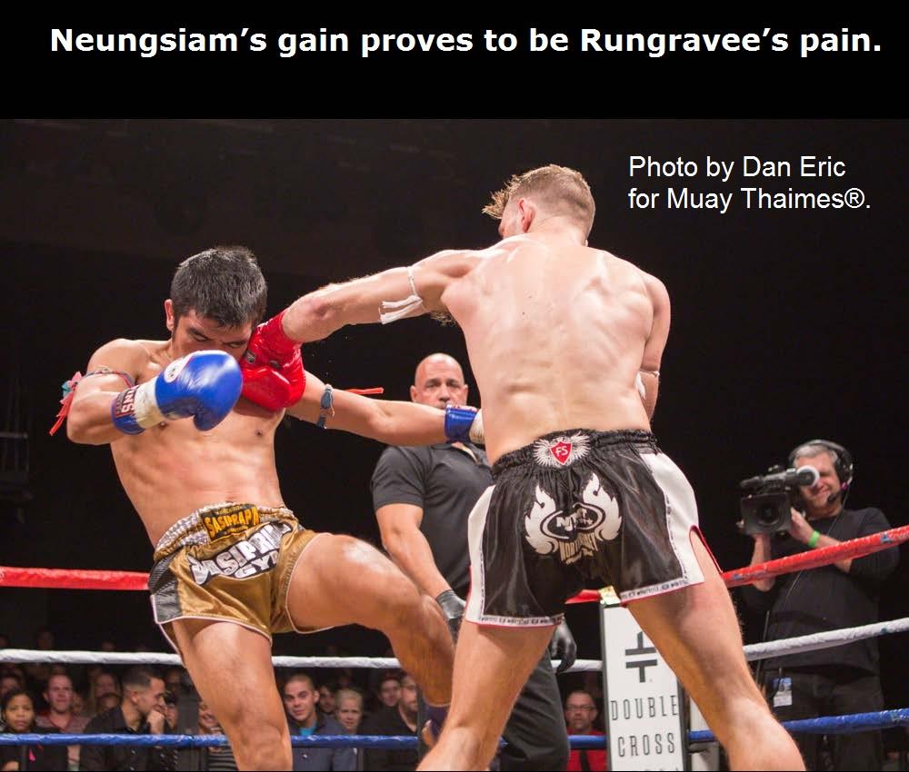 Neungsiam's gain proves to be Rungravee's pain