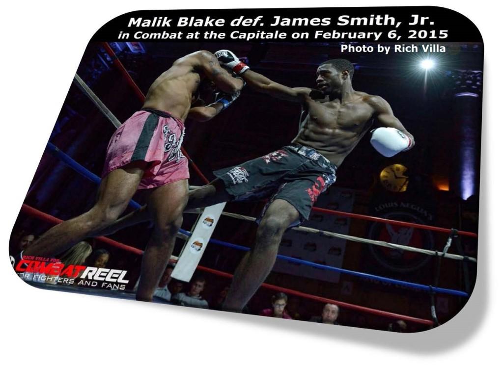 Malik Blake vs. James Smith, Jr.