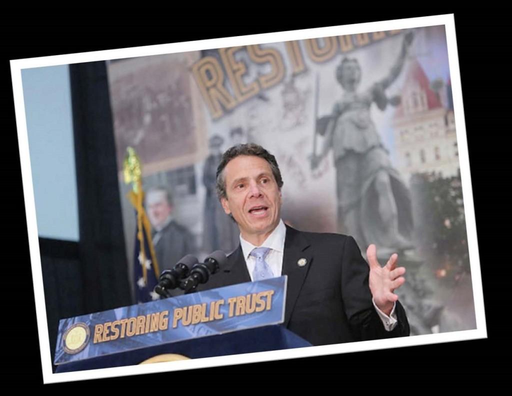 New York State Governor Mario Cuomo