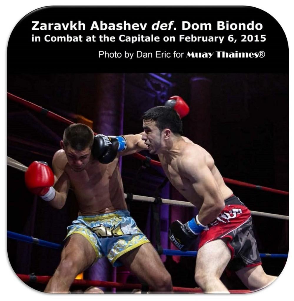 Zaravkh Abashev vs. Dom Biondo