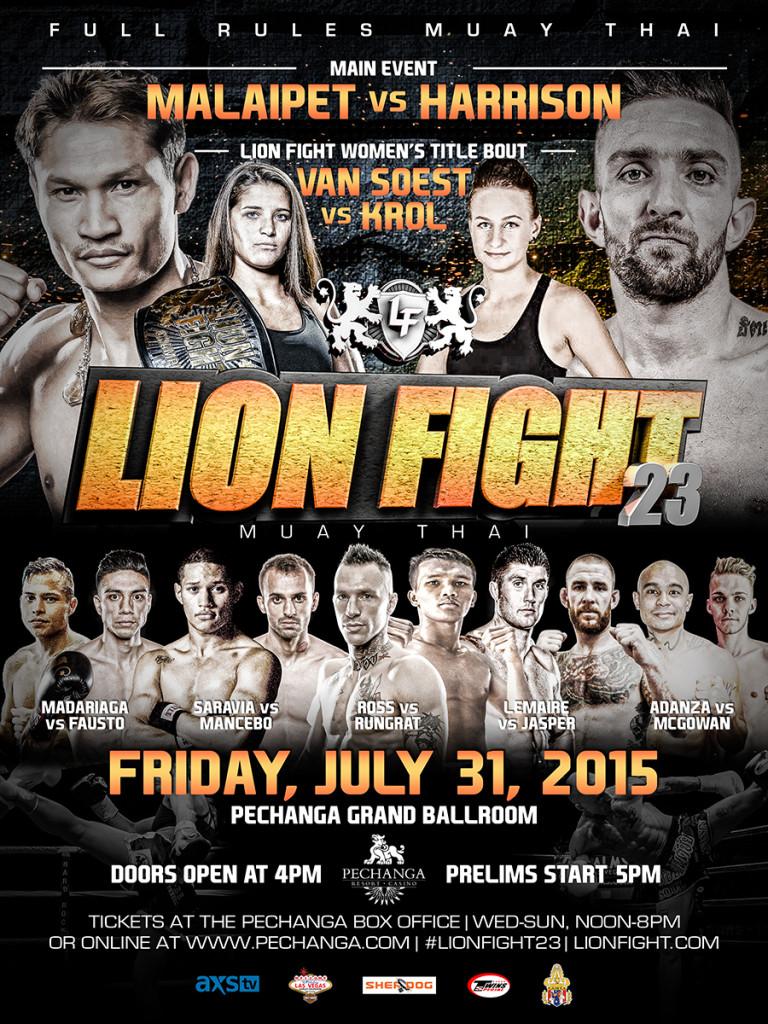 Lion Fight XXIII Poster