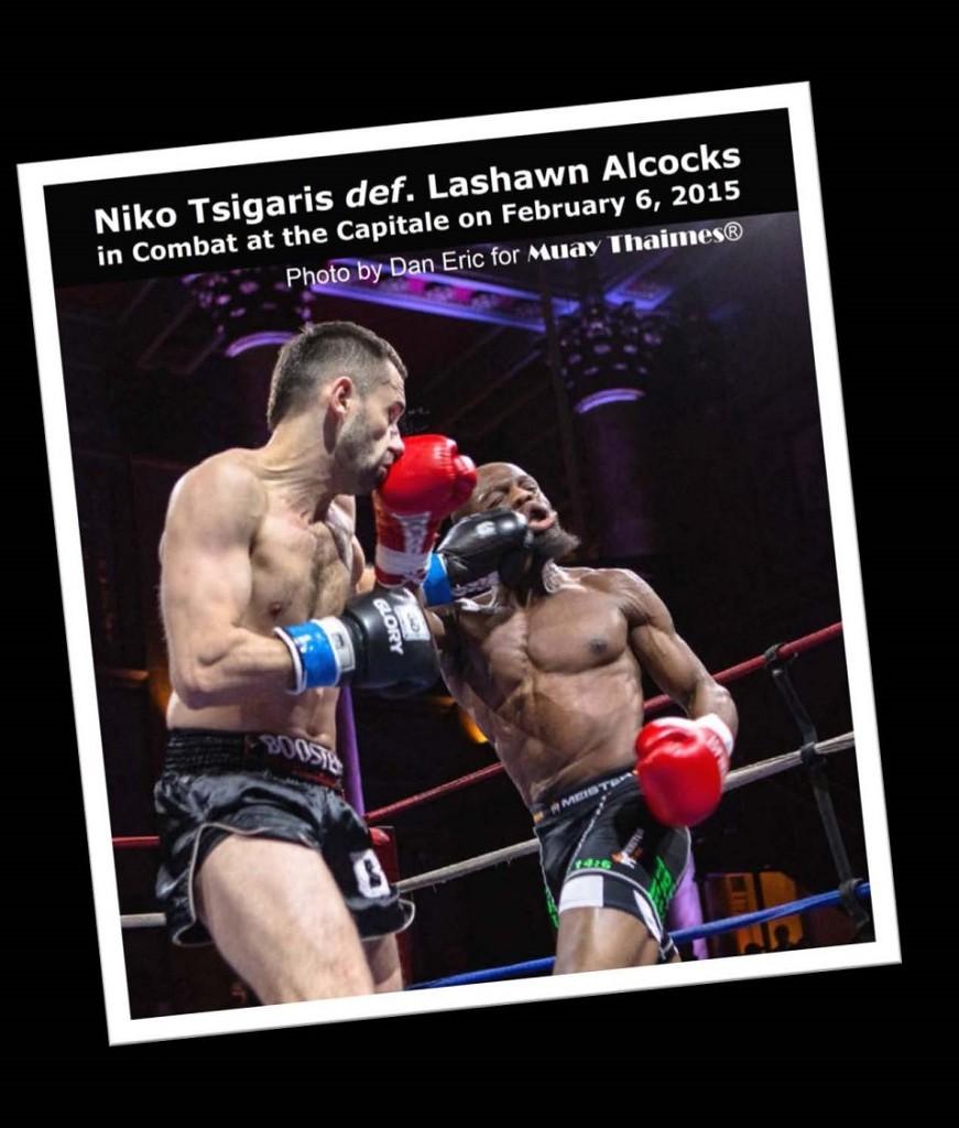 Niko Tsigaris vs. Lashawn Alcocks