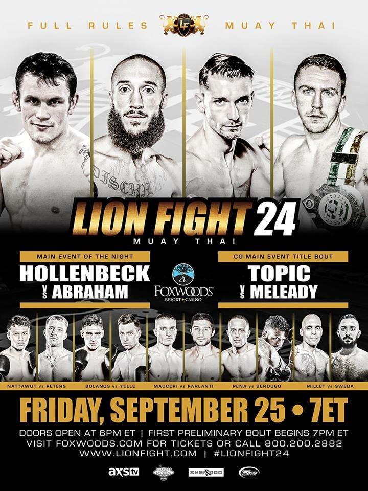 Lion Fight XXIV Poster
