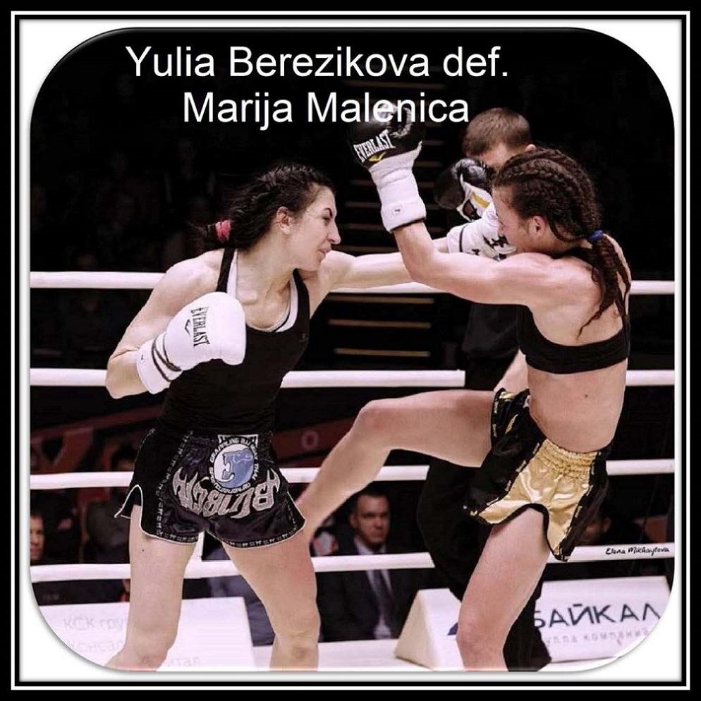 Berezikova vs. Malenica