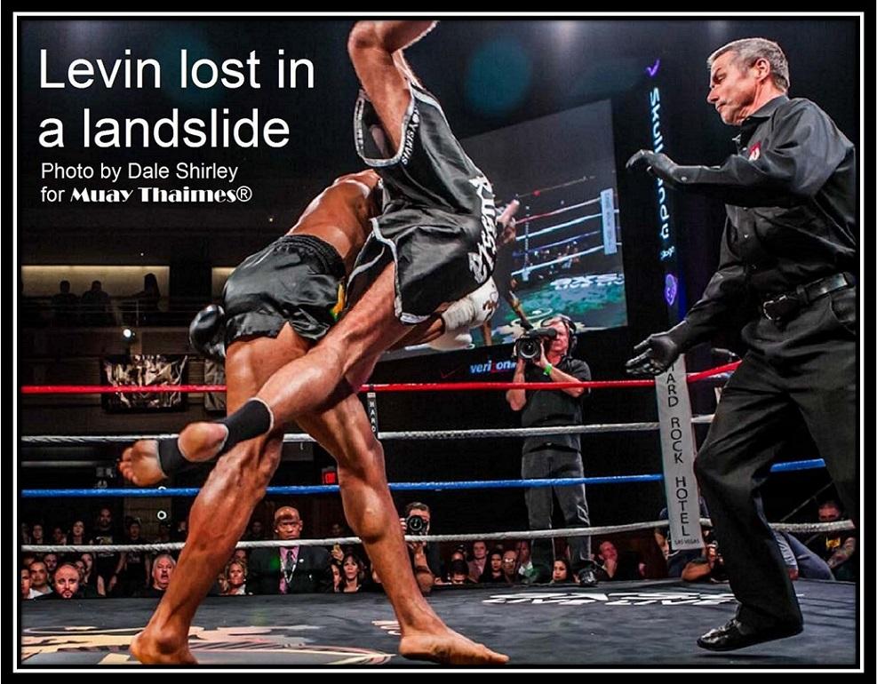 Levin Lost in a Landslide