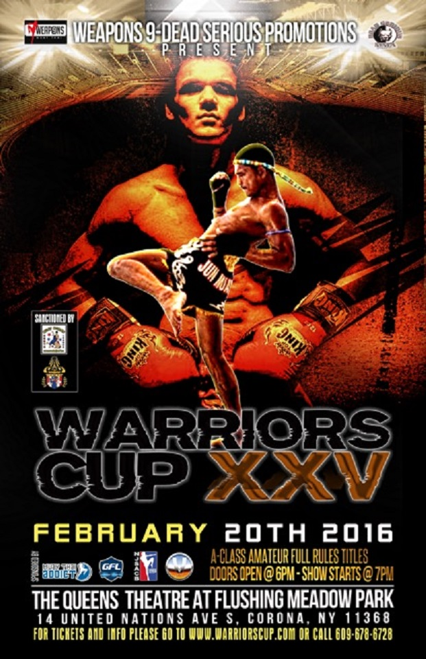 Warriors Cup Poster for February 20, 2016